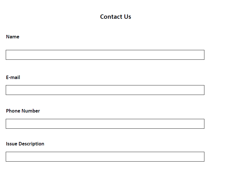 sample loan application form
