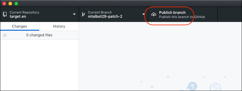 publish branch image