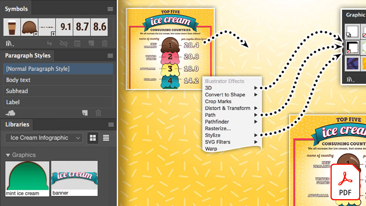 Get to Know Graphic Styles in Illustrator