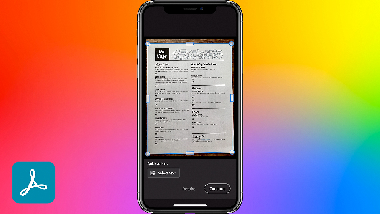Scan Documents to PDFs from your Mobile Phone