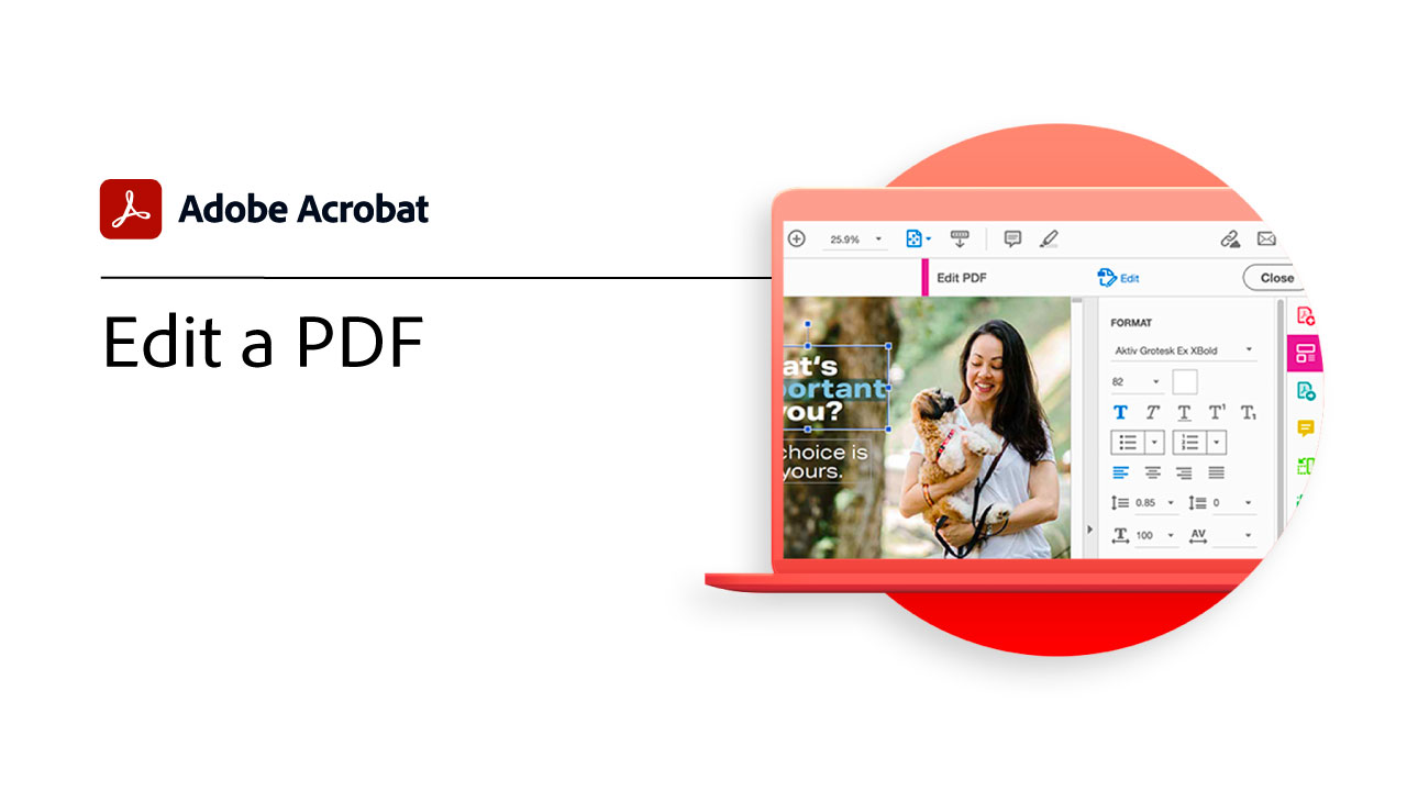 Edit a PDF in Acrobat DC