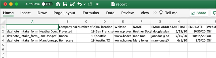 Form Data Step 4