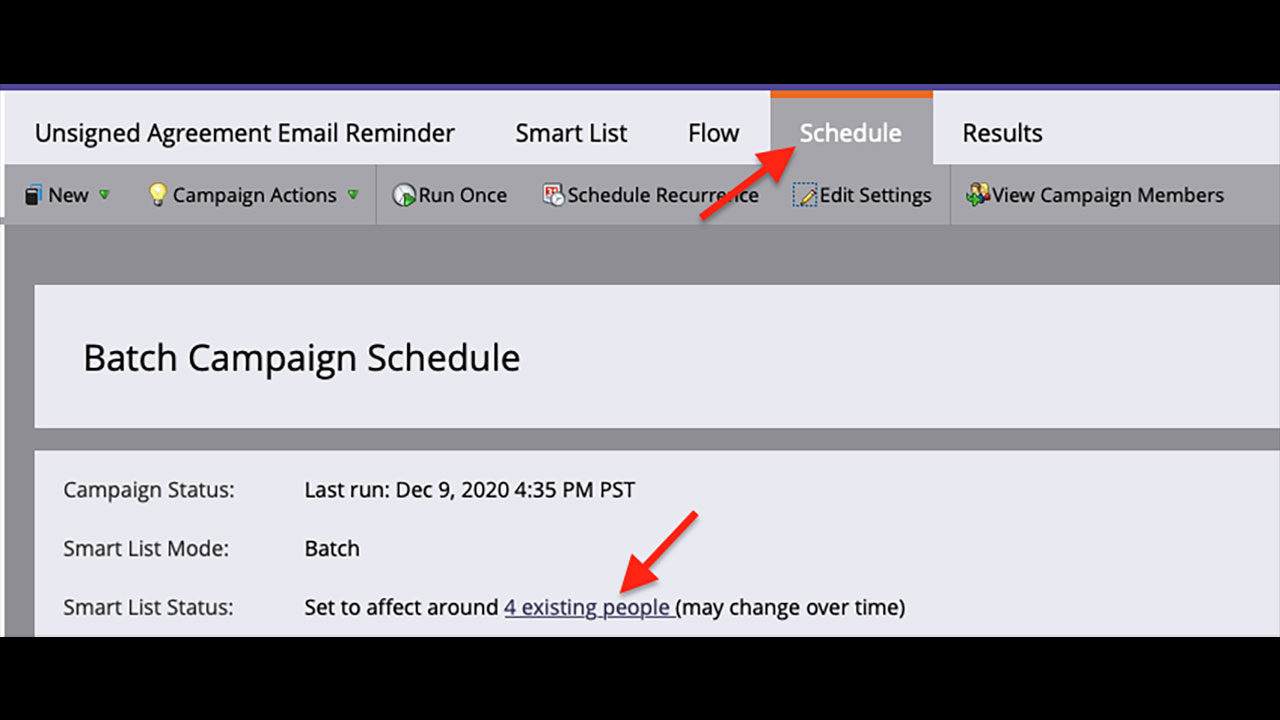 Send reminders using Adobe Sign for Microsoft Dynamics and Marketo