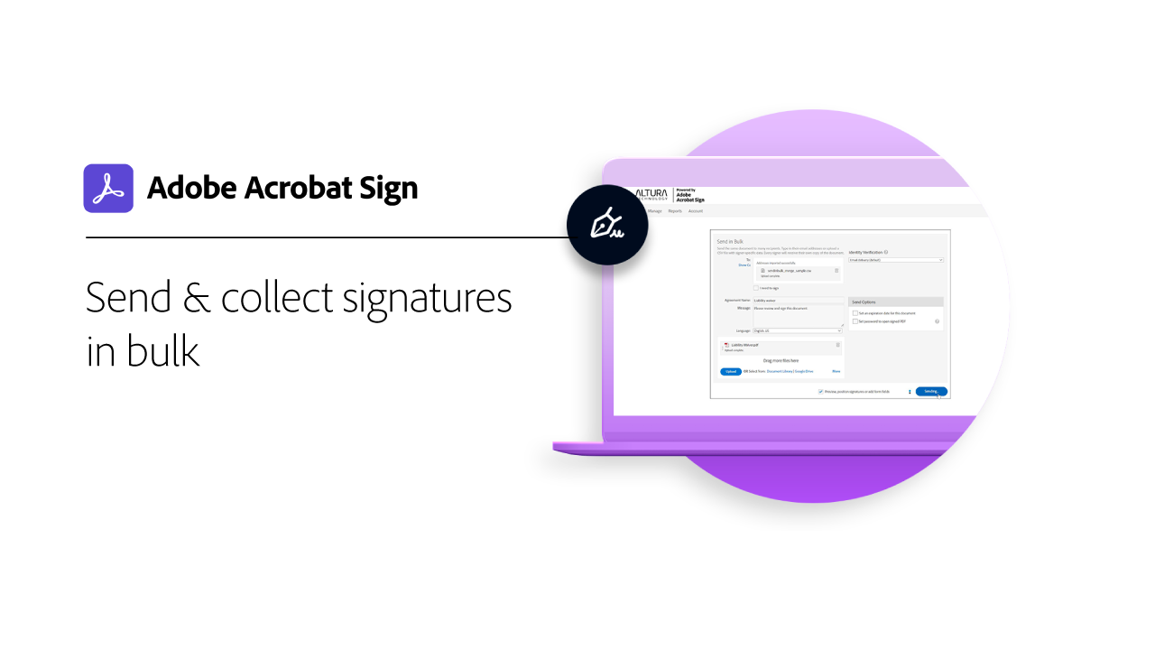 Collect Signatures in Bulk