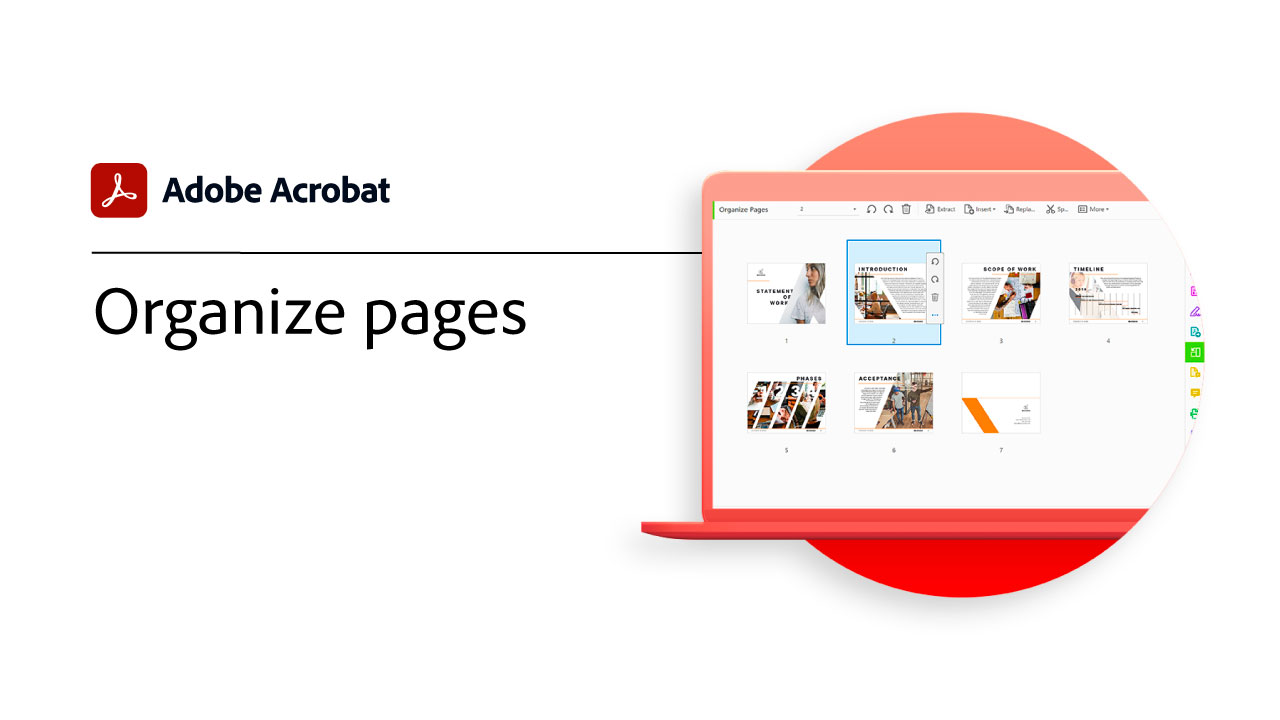 Organize Pages