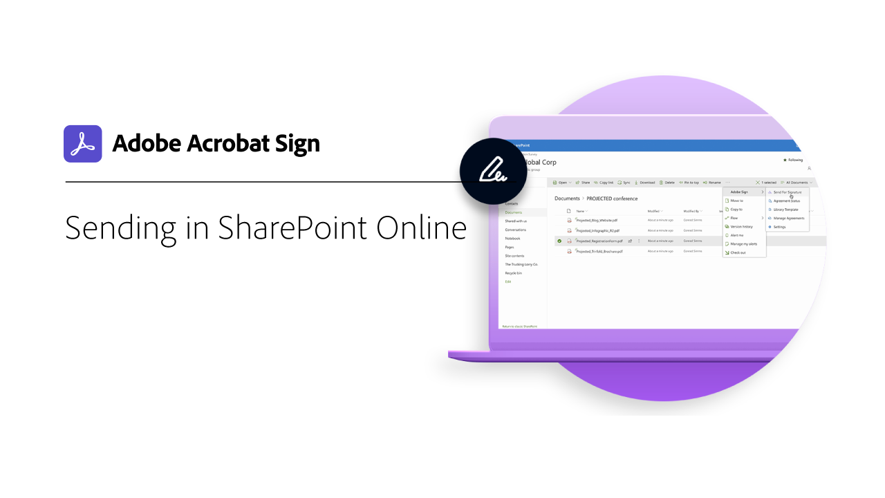 Sending in SharePoint Online