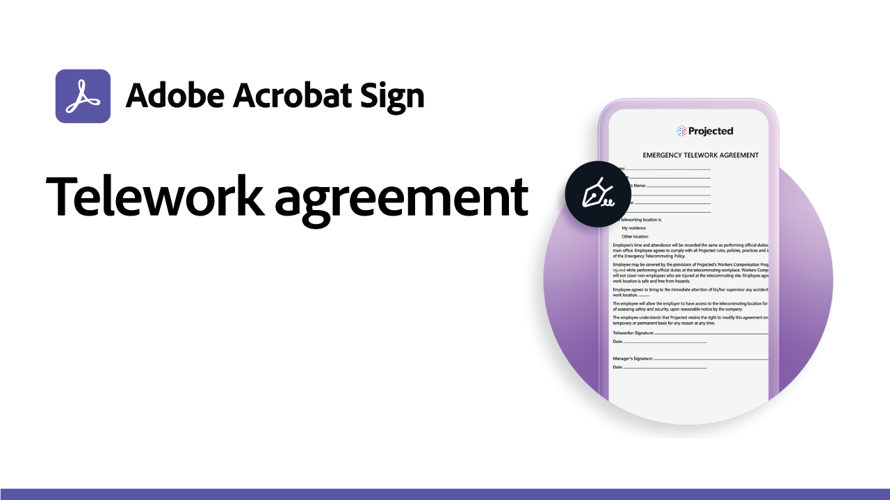 Telework Agreement