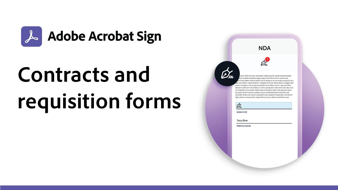 Contracts and Requisition Forms