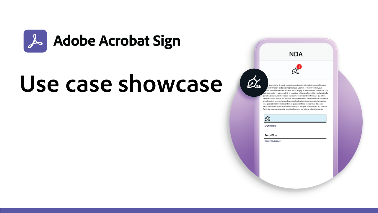 Use Case Showcase