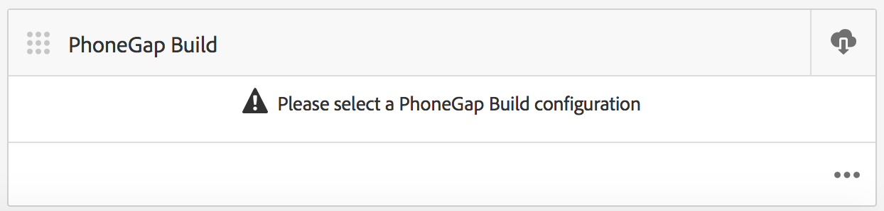 PhoneGap Build Tile
