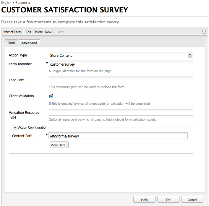 custom survey