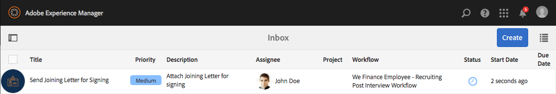 johndoejoiningletterinbox