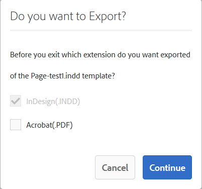 export to pdf
