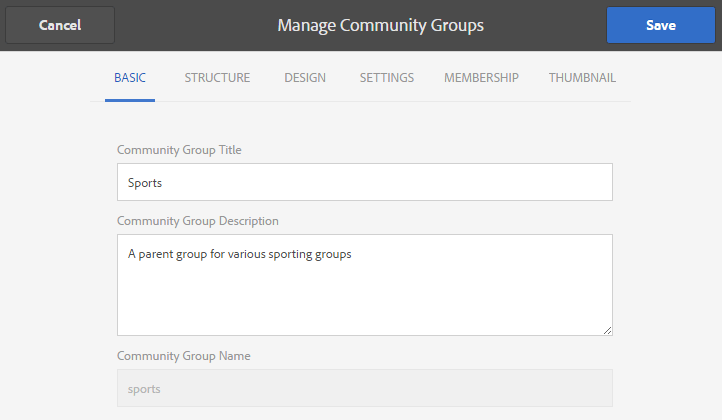 community-group-basic