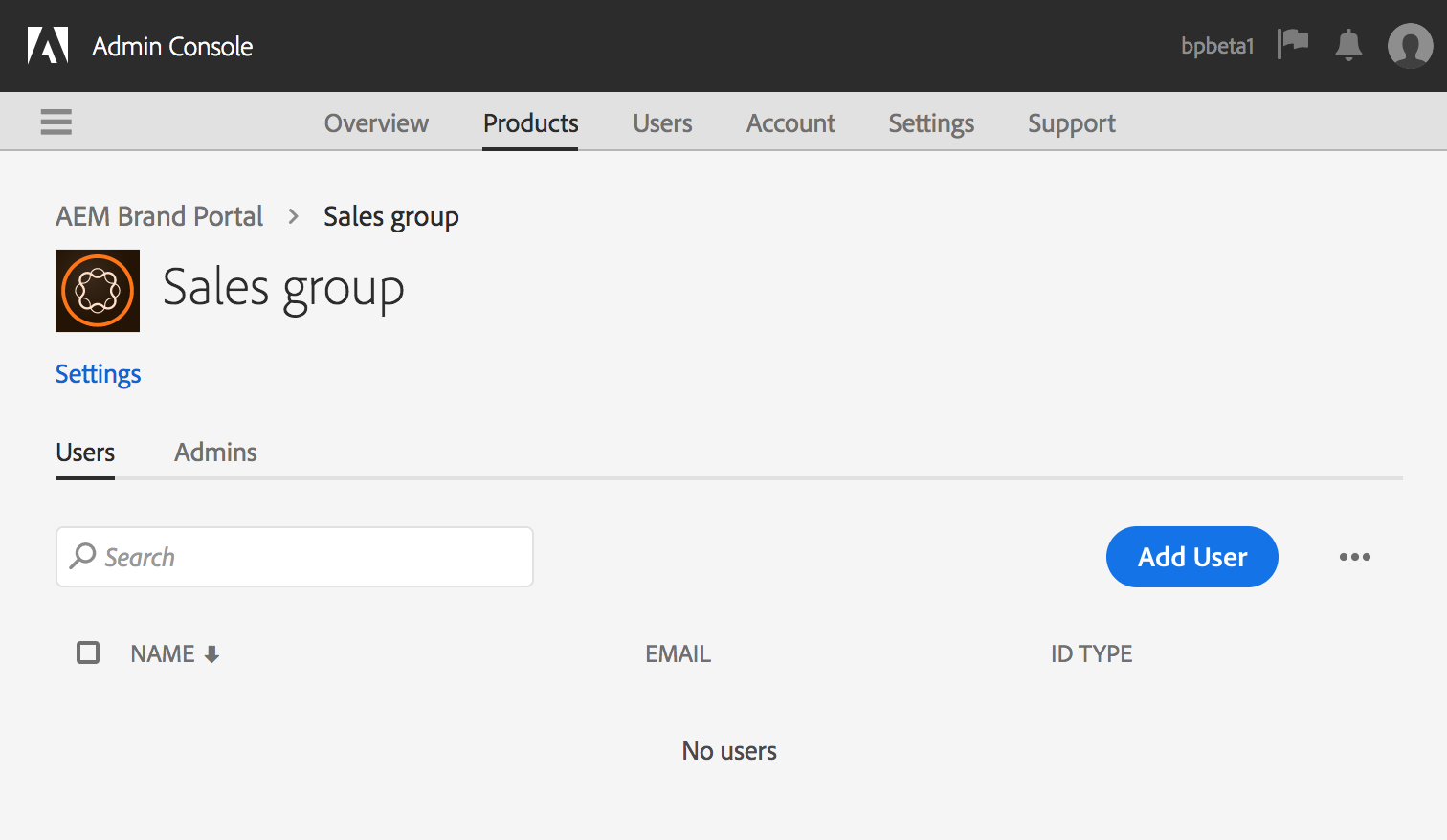 Group to map Product Profile in Brand Portal
