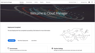 Understand Cloud Manager for AEM