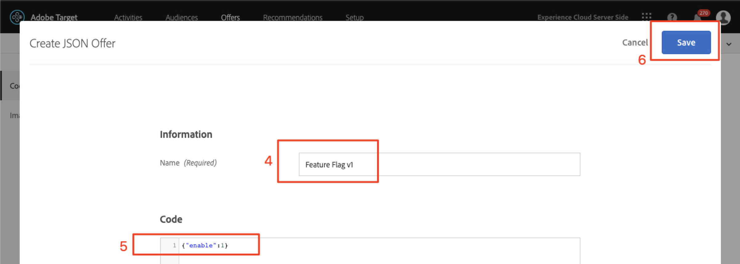 feature_flag_v1 JSON Offer